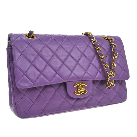 Auth CHANEL Quilted CC Double Flap Chain Shoulder Bag Purple Leather VTG U801 https://t.co/xovmtOSt6g https://t.co/xYC6Ey36No http://twitter.com/Fuokdi_Leenso/status/775299578551754752