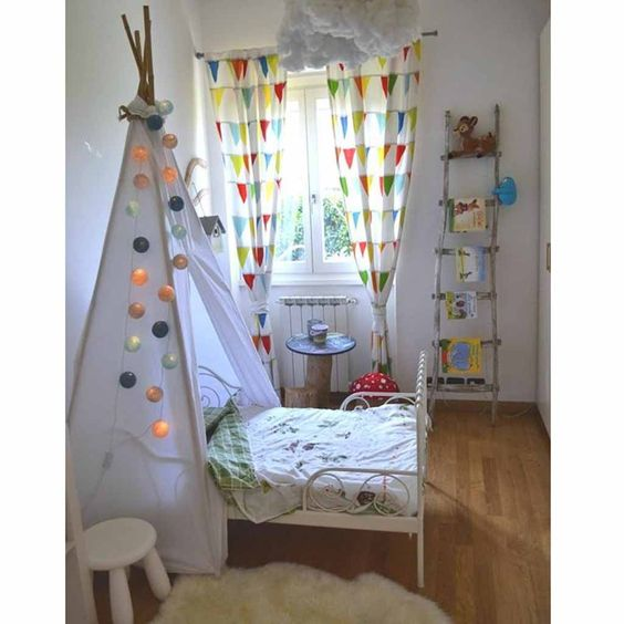 d coration tipi pour chambre d 39 enfant elle d coration d coration. Black Bedroom Furniture Sets. Home Design Ideas