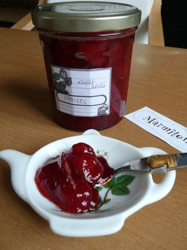 recette confiture de fraises au micro ondes petit dej g 226 teaux et desserts