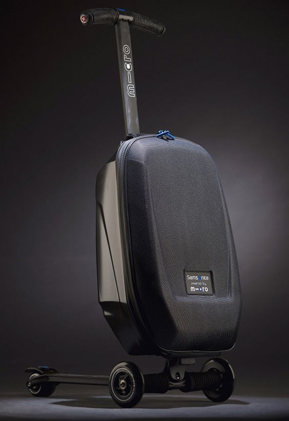 Scootcase for those miles and miles of corridors at airports