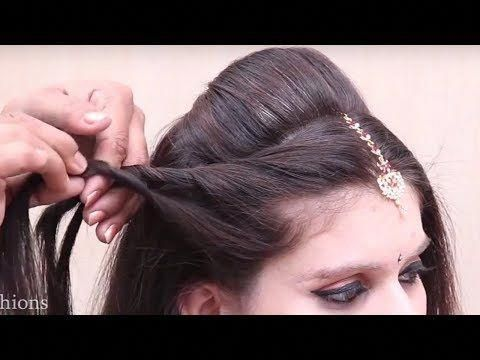 Indian Traditional Hairstyles For Wedding Bridal Hairstyles Wedding Hairstyles Step By Wedding Hairstyles For Girls Indian Bridal Hairstyles Hair Styles