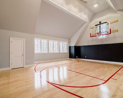 Home Basketball Hardwood Basketball Room Indoor Basketball Court Home Basketball Court