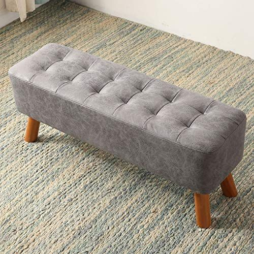 Simple Shoes Bench Door Sofa Stool Solid Wood Small Bench Wear Shoes Bench Bed End Stool Size L Small Sofa Designs Small Sofa Small Sofa Bed
