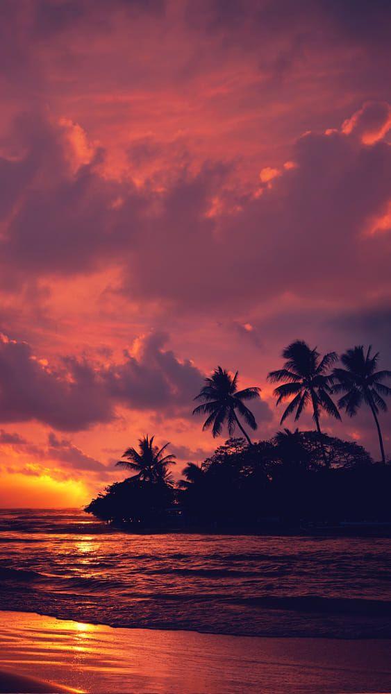 Untitled By Eduardo Nava On 500px Sunset Wallpaper Aesthetic Wallpapers Beach Wallpaper Beautiful wallpaper island sunset