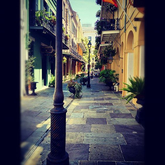 Street View (New Orleans) by Rebecca Roberts