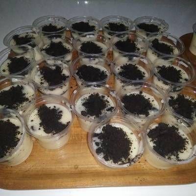Resep Cheese Cake Lumer Mini Buat Jualan Oleh Tia Listiawati Cookpad Kue Keju Ide Makanan Kue Lezat