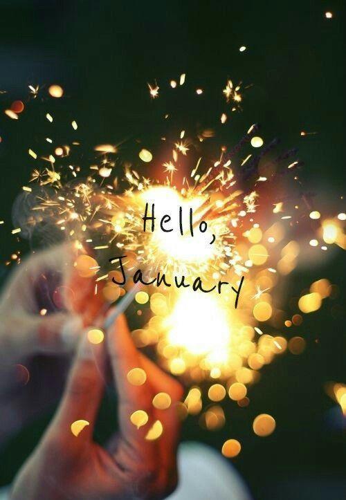 Hello January(ˆ◡ˆ)