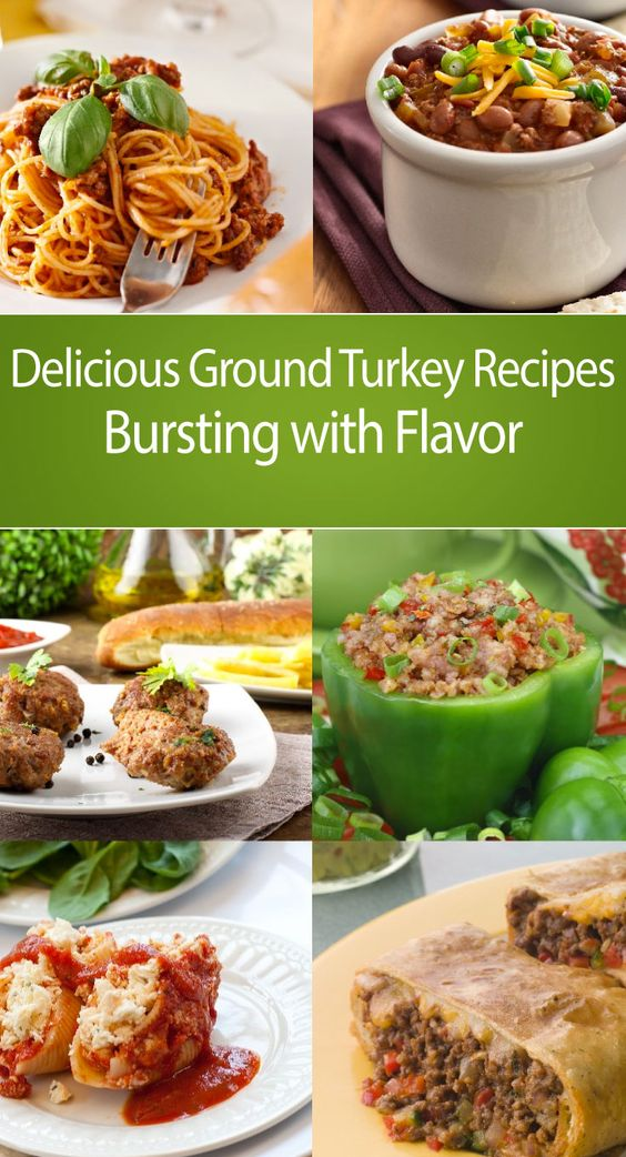 Ground turkey recipes, Turkey recipes and Ground turkey on ...