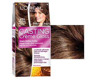 coloration casting crme gloss 6103 frosty praline - Coloration Casting Crme Gloss