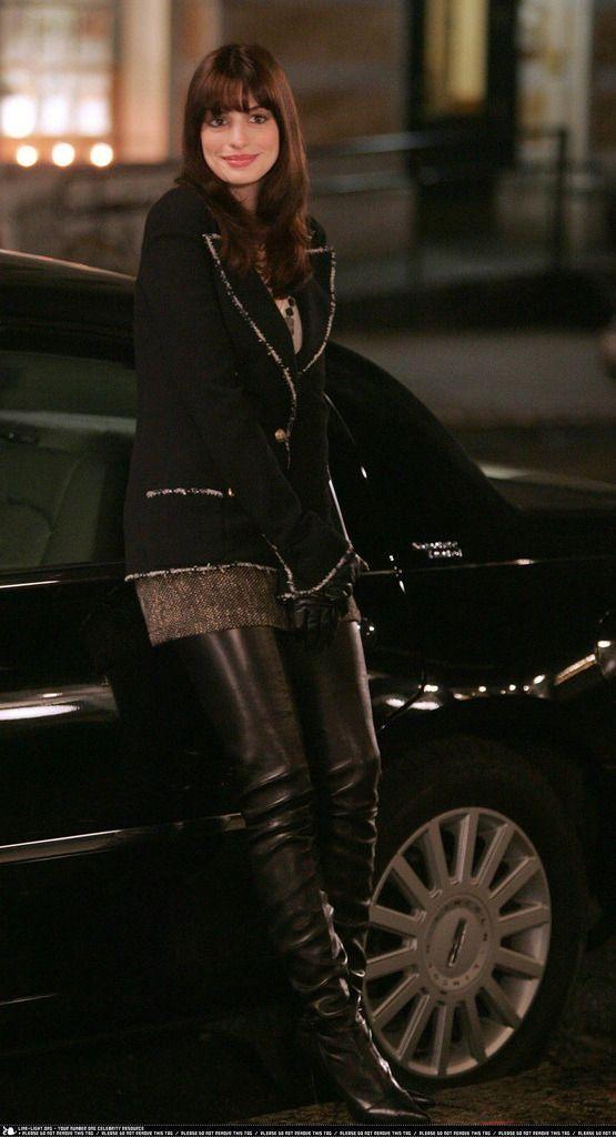Anne Hathaway Le Diable S'habille En Prada : hathaway, diable, s'habille, prada, Épinglé, PRADA