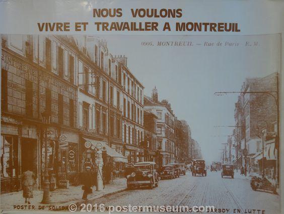 Vivre at Travailler a Montreuil