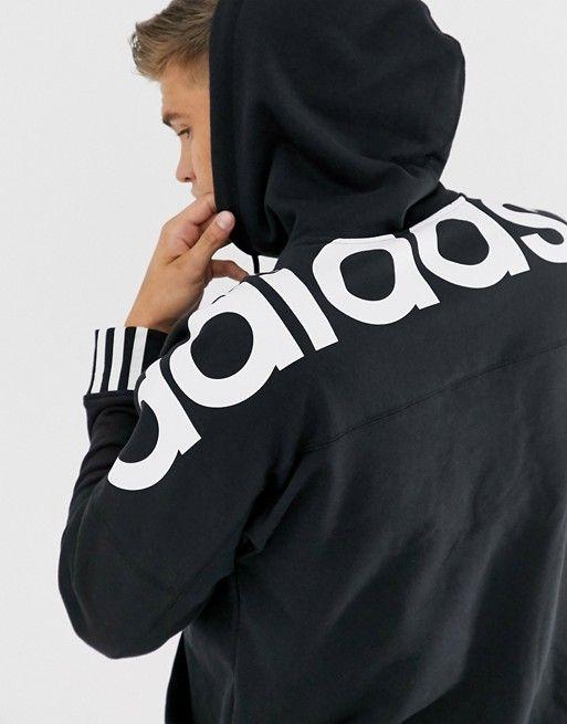 adidas 1/2 zip hoodie junior