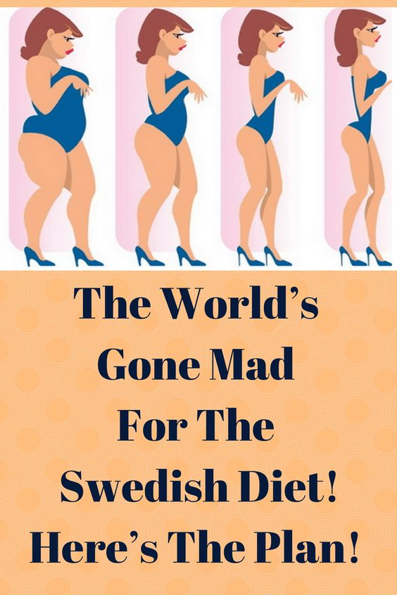The World's Gone Mad For The Swedish Diet! Here's The Plan