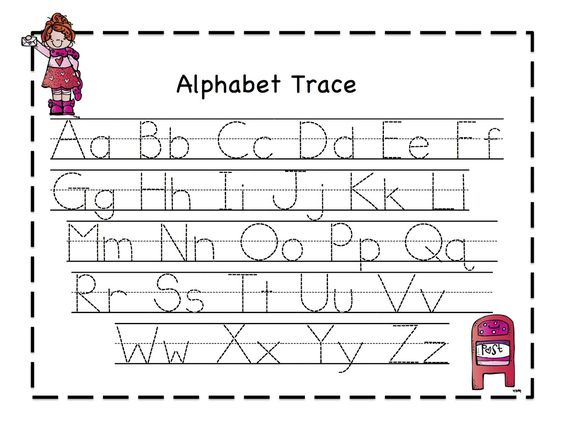 Worksheets Tracing Abc abc tracing sheets for preschool kids kiddo shelter alphabet shelter