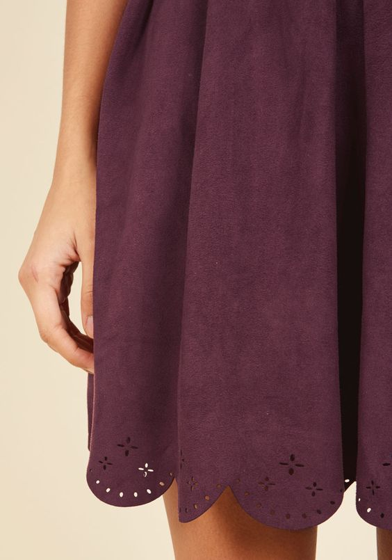 Spin Me Right Renowned Mini Dress. Already esteemed for your dance floor finesse, you kick your regard up a notch by flaunting this burgundy dress from Canadian brand Pink Martini. #red #modcloth