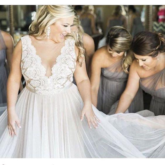 Plus Size Wedding Dress - Watters Santina