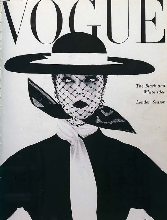 Vogue. June, 1950. Cover: Jean Patchett is wearing a Creation of Aldrich and Lilli Dache hat. She was photographed by Irving Penn.