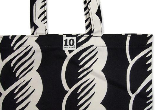 【楽天市場】10 Swedish Designers[テンスウェディッシュデザイナーズ]ショッピングバッグ Rope:CDC webstore