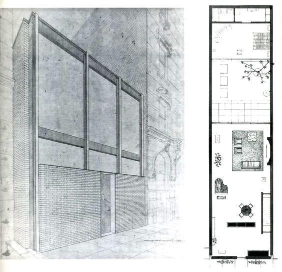 Philip Johnson Rockefeller Guest House New York 1949