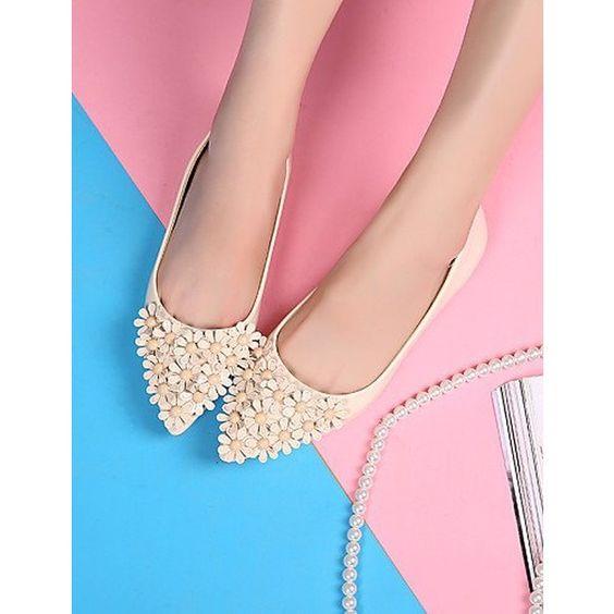 ZQ YYZ Damenschuhe - Ballerinas - http://td.oo34.net/cl/?aaid=dLIjiad8zcRQJZzW&ein=txad4m0c1rzeisoq&paid=eg6pw0wqc6we326o - shoes - schuhe - blumen - flowers