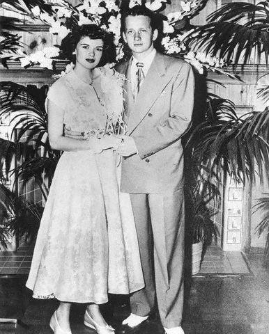 Jayne Mansfield and Paul Mansfield