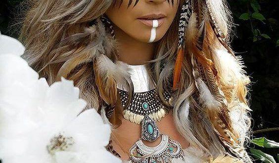 Indianer Frisuren Frauen Hair Hair Wrap Beauty