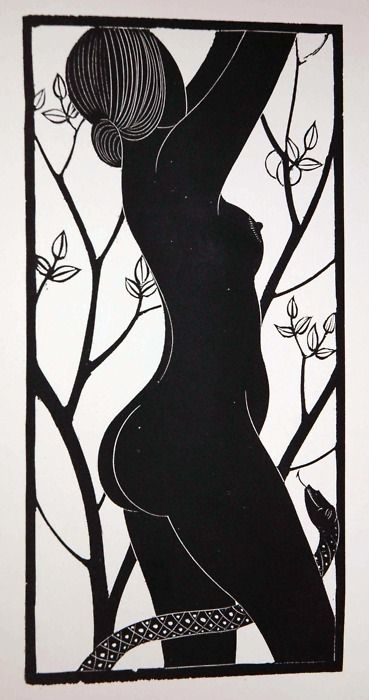 """""""Eve"""" 1935 by Gill, Eric 1882-1940"""