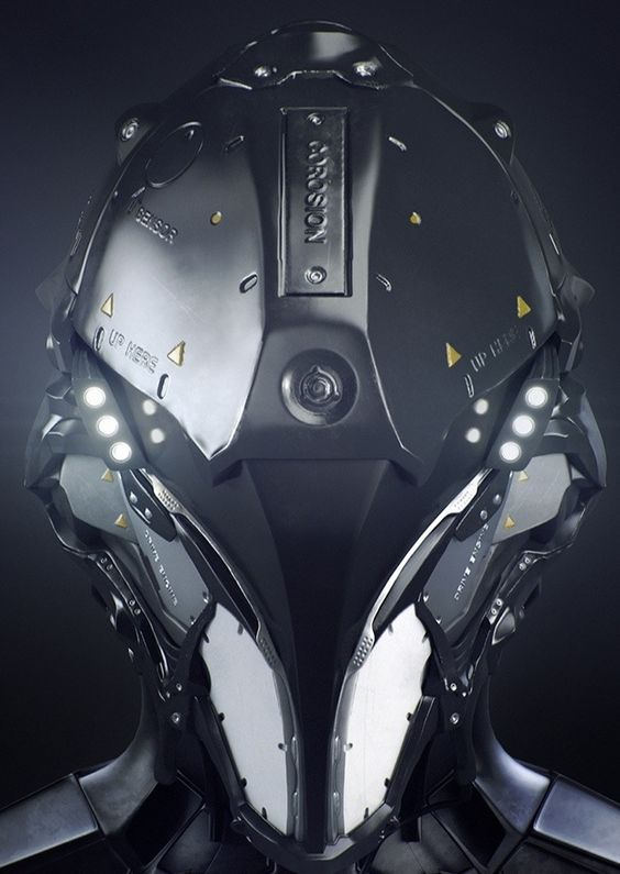 Posts, Cyberpunk and Armors on Pinterest