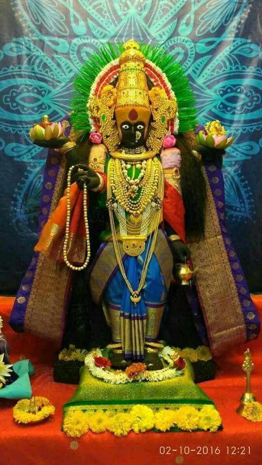 Kolhapur Mahalakshmi Durga Goddess Hindu Art Lord Ganesha Paintings