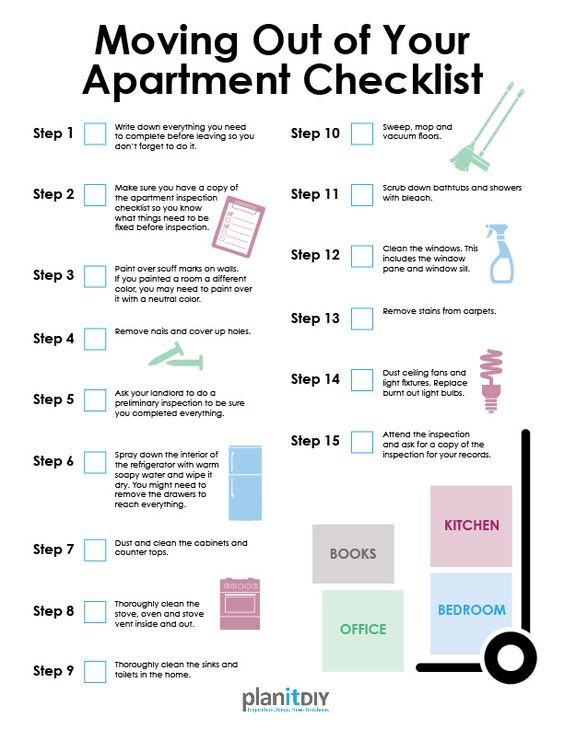 Moving soon? Don't get stuck paying your deposit! Download and follow our #DIY apartment move-out checklist instead.