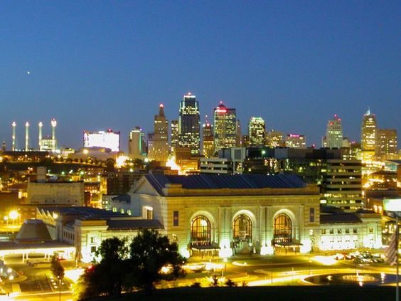 Union Station & Downtown Kansas City, Missouri. Don't know who took this pic, but it is everywhere & beautiful!