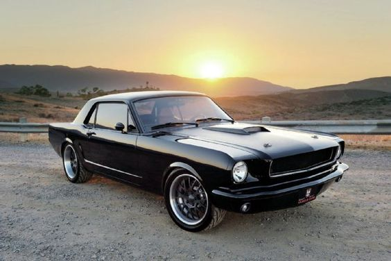 1965 Ford Mustang Coupe - Black Is Still The New Black: Clarence Williams' super sano matte black first gen coupe is all about the details.