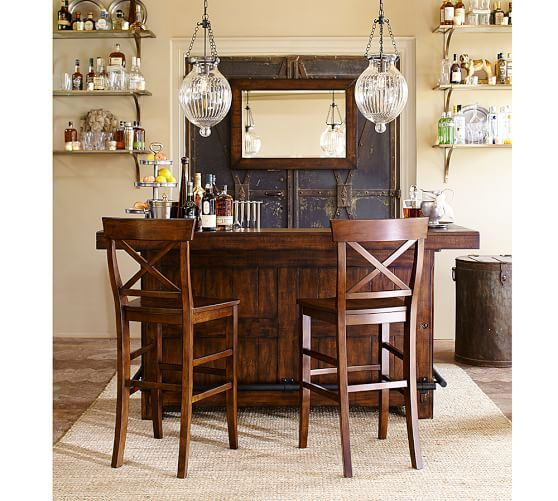Rustic Ultimate Bar - Large | Pottery Barn