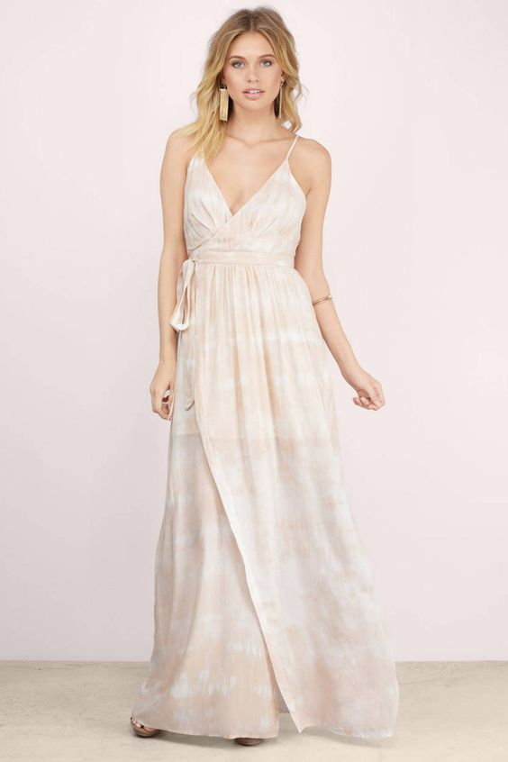 Uluwatu Tie Dye The Jetset Diaries Kingston Wrap Maxi Dress at $105 (was $210)
