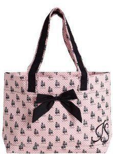 Jessie Steele French Poodle Tote Bag with Bow High quality ...