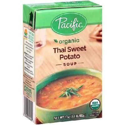 Pacific Natural Foods Thai Sweetpotato Soup (12x17oz )