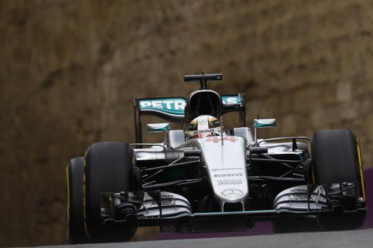 メルセデス:F1ヨーロッパGP 初日レポート  [F1 / Formula 1]