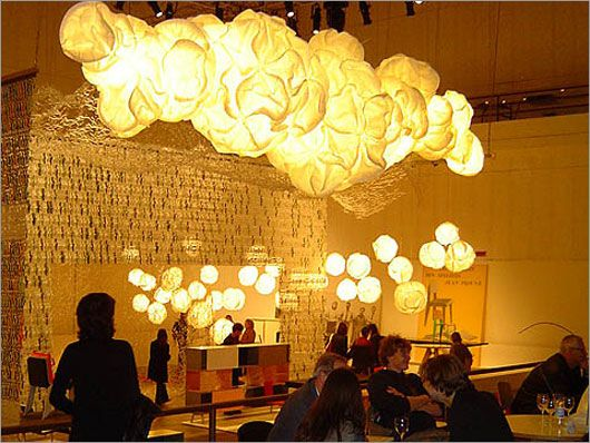 vitra cloud lamp by frank gehry bright special lighting honor dlm