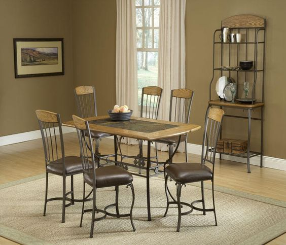 hillsdale lakeview and more dining room sets wood accents room set
