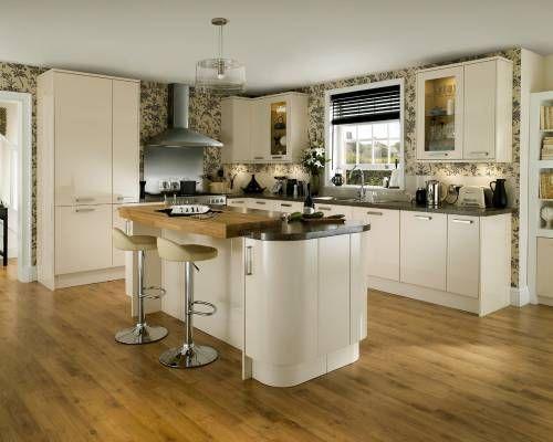 Kitchen Howdens Gloss Cream Kitchen Ideas Pinterest Cream Gloss Kitchen Kitchens And