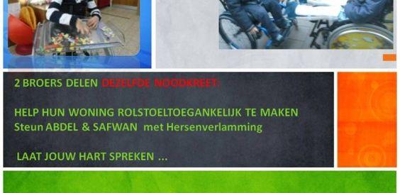 Steun 2 broers met een hersenverlamming bij hun woningaanpassingen. #CroFun