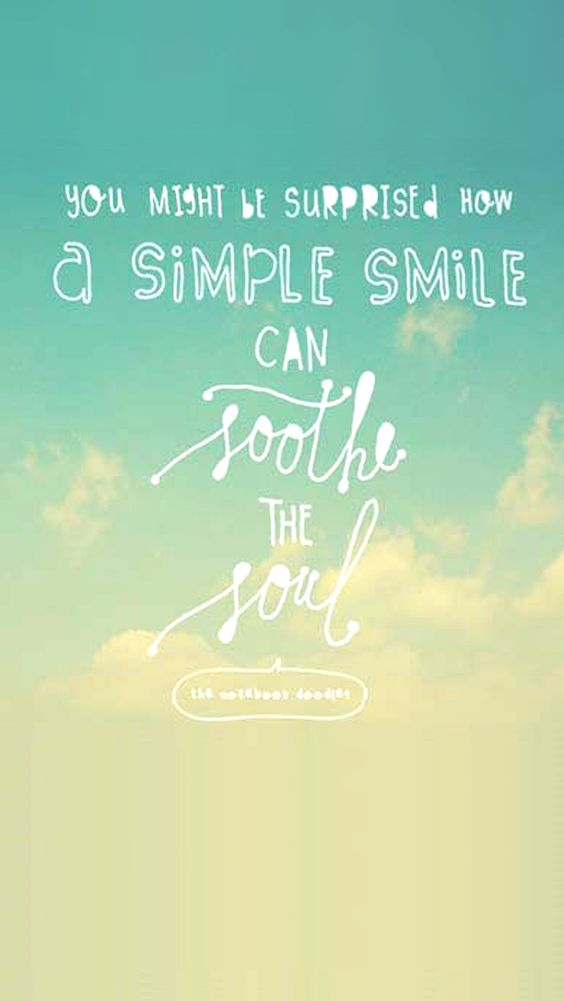 You Might Be Surprise How A Simple Smile Can Soothe The Soul. Keep Smiling. =) - mobile9