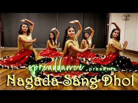 Nagada Sang Dhol Deepika Padukone Ranveer Singh Ram Leela Bollygarba Dance Cover Spreaddance Youtube Ranveer Singh Navratri Festival Navratri