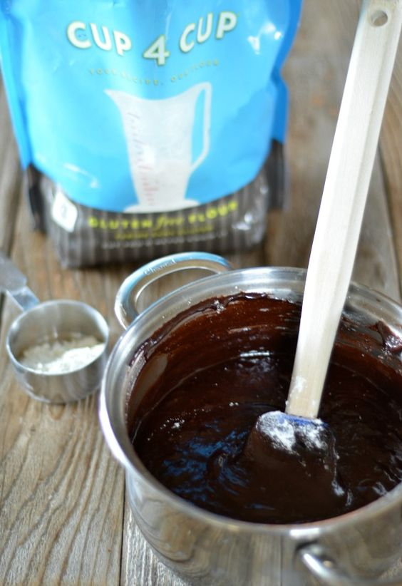 Fudgy Gluten Free Brownies | mountainmamacooks.com