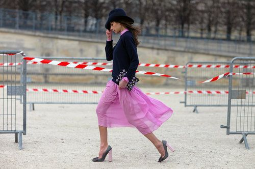 a stroll in les tuileries