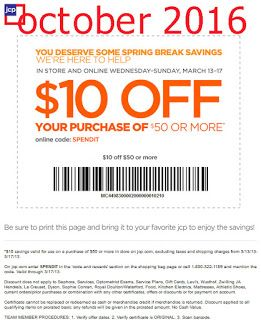 Free Printable Coupons: JCPenney Coupons