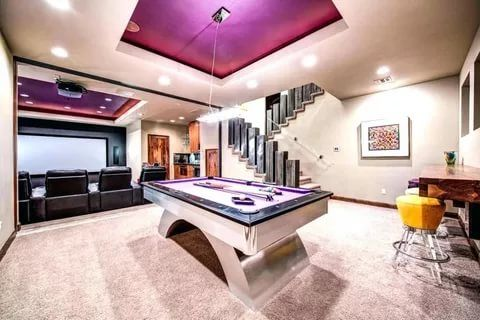 40 Best Game Room Ideas Game Room Setup For Adults Kids Bars For Home Game Room Man Cave