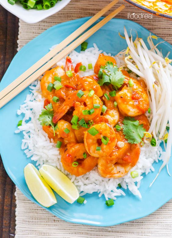 top-plate-thai-coconut-shrimp-curry-recipe. I think thai red curry is my favourite dish. But I'm wondering if I can eat it now with no gallbladder. Might just have to make it and see :-/.
