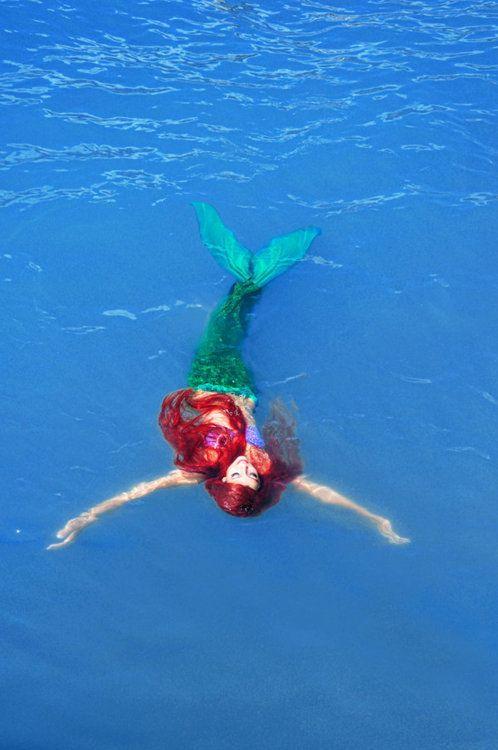 Swimming... #mermaid