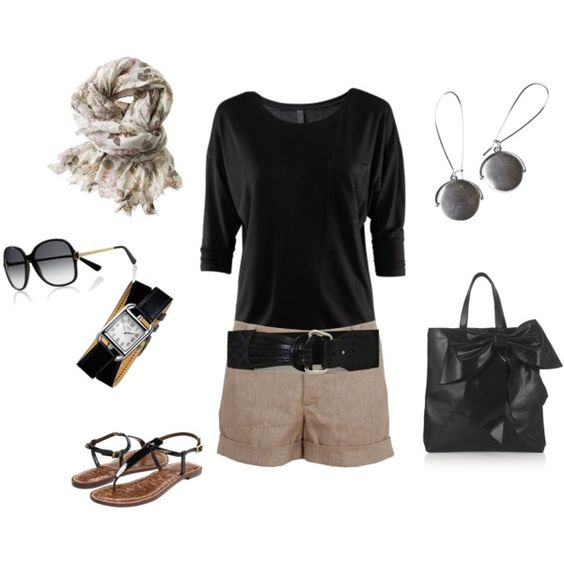 beige and black